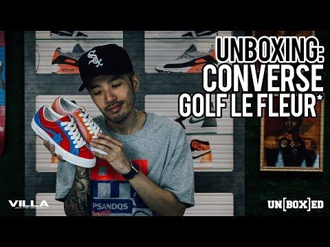 UNBOXED: CONVERSE X GOLF LE FLEUR EP: 23