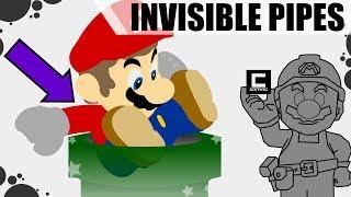 The Invisible Pipes Glitch - Super Mario Maker