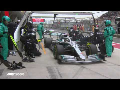 Mercedes' Double Pit Stop Masterclass   2019 Chinese Grand Prix