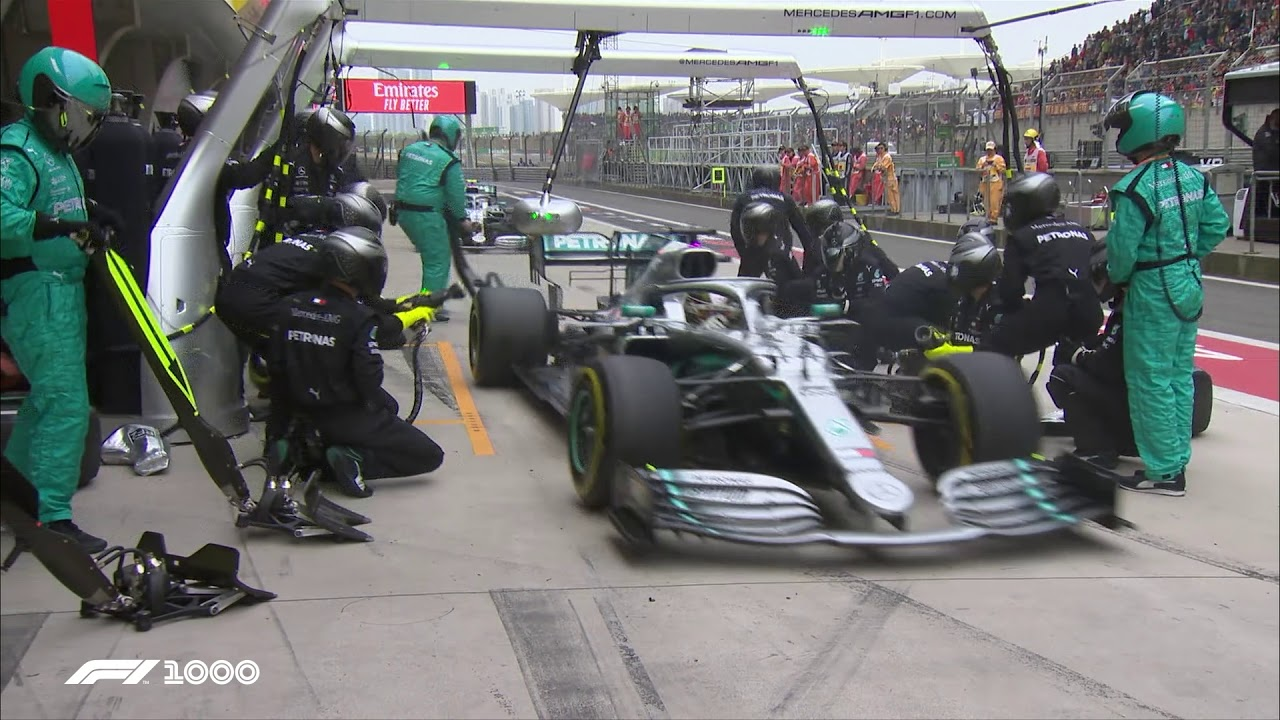 Mercedes' Double Pit Stop Masterclass | 2019 Chinese Grand Prix