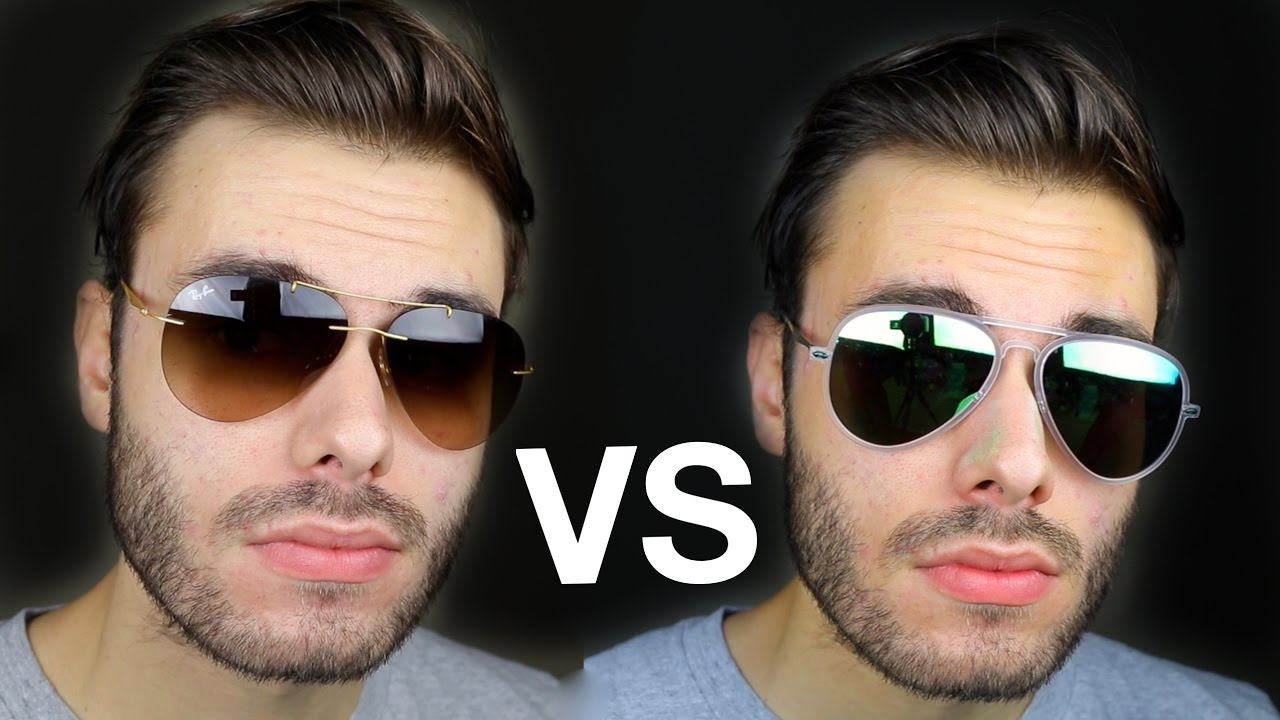b3e7581c70c Ray-Ban Aviator Light Ray vs Light Ray II - YouTube