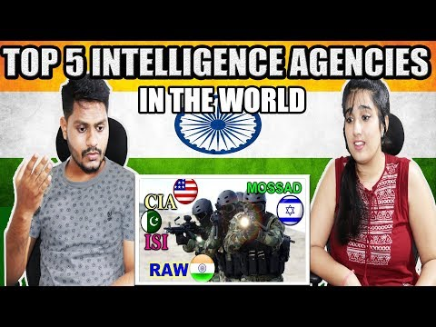 Indian Reaction On Top 5 Best Intelligence Agencies in the world | Krishna Views