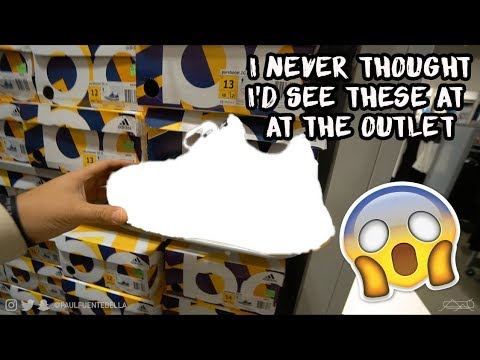 LOOK what we found shopping the Adidas Outlet!! (VLOG)