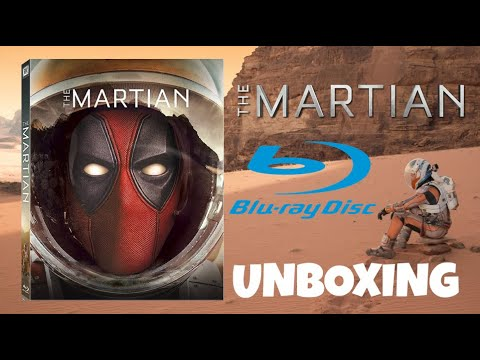 Download The Martian (2015) Blu-ray Unboxing