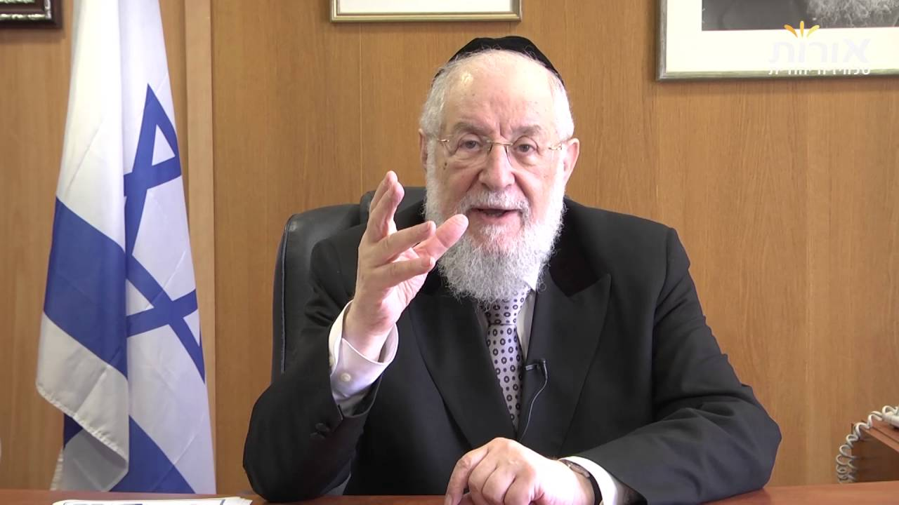 Rabbi Lau on Parashat Balak - Loneliness is actually a blessing.