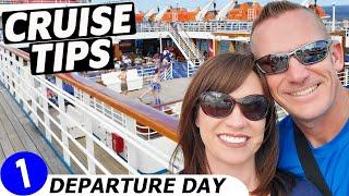 Carnival Ecstasy Cruise VLOG | Departure from Jacksonville Cruise Port