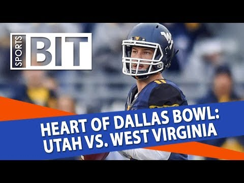 Heart of Dallas Bowl: Utah vs. West Virginia | Sports BIT | NCAAF Picks