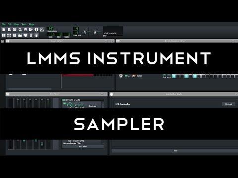 LMMS Instrument Tutorial: AudioFileProcessor