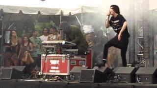 Crystal Castles - Crimewave - Lollapalooza - Aug 5 2011 - Chicago