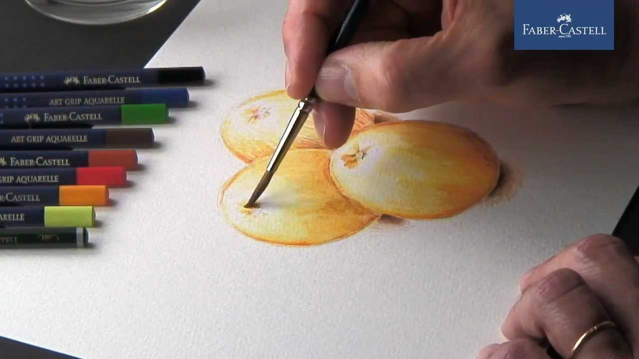 Watercolor Pencils Crayons Aquarellables Lapis De Cor