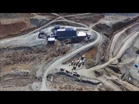 Lucapa Diamond - Mothae Site Tour Drone October 2017