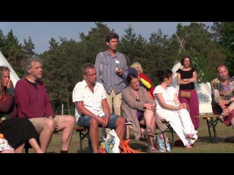 Hare Krishna. De Bhakti Yoga tent van het Eigentijds Festival 2013