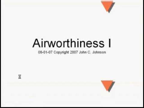 B Airworthiness Requirements I 37 minutes
