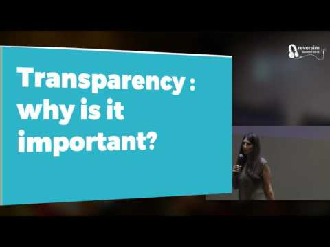 How to (really) create transparency (Hebrew)