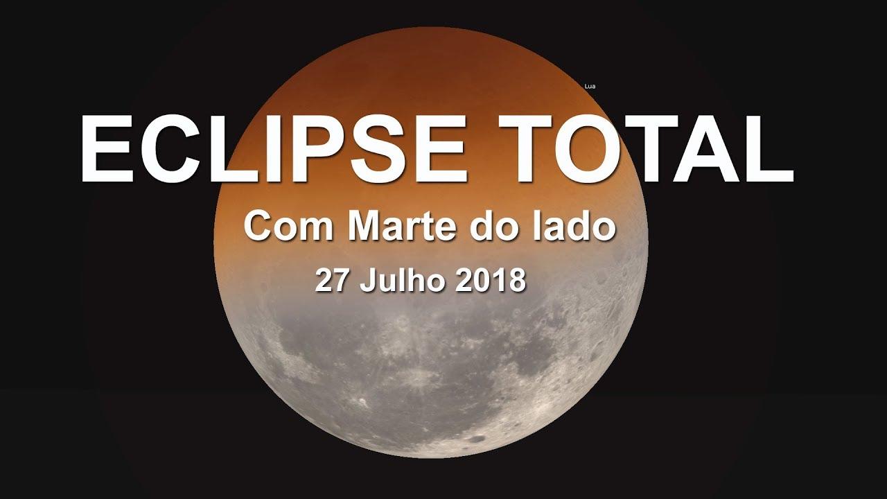 Veja Como Sera O Eclipse Total Da Lua De 27 De Julho De 2018
