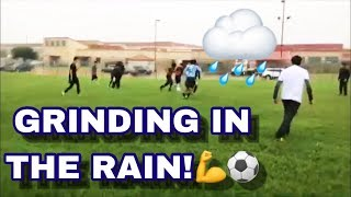 GRINDING IN THE RAIN! | VLOG #10