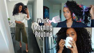 WORK MORNING ROUTINE (financial analyst)