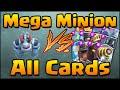 Clash Royale - Mega Minion Vs All Cards! How To Counter & Use Mega Minion video