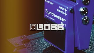 Boss SY-1 Guitar/Bass Synthesizer Pedal   Gear4music demo