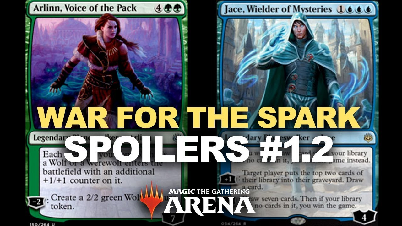 WEREWOLF TRIBAL DECK?! War of the Spark Spoiler Reaction! Magic Arena MTG