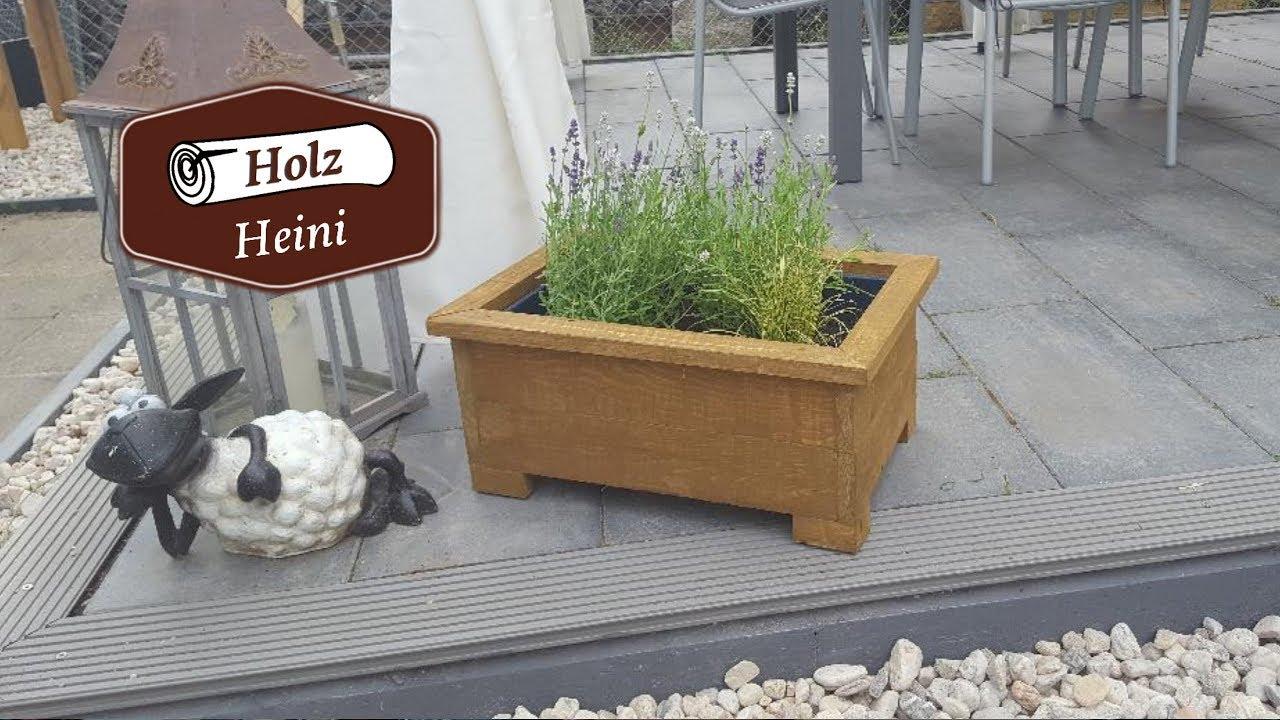 Diy Einen Blumenkasten Zum überstülpen Schnell Aus Restholz Gebaut