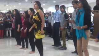 March 2014 - Deloitte Tax Hyderabad -Flash Mob Dance