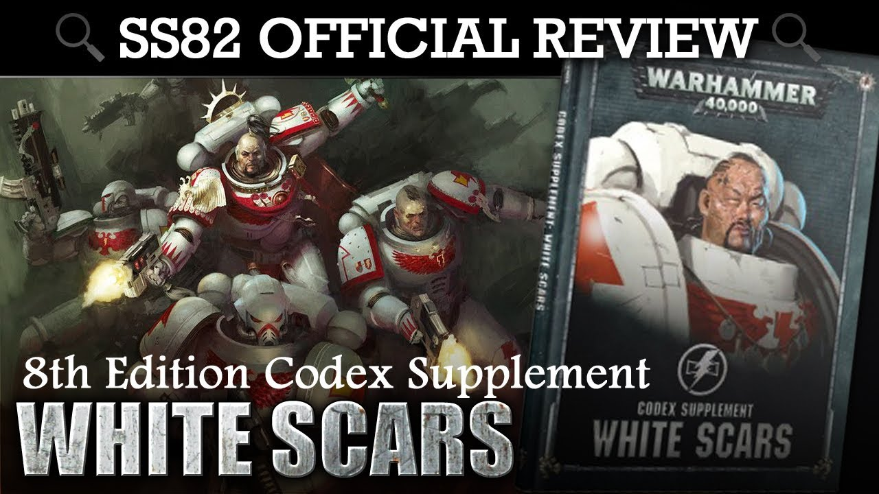 *NEW* Codex Supplement White Scars Space Marines Warhammer 40K 8th Edition  SS82 REVIEW
