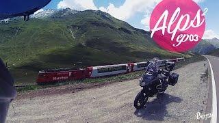 Amazing road from Andermatt to Chur - Alps 2 - EP03