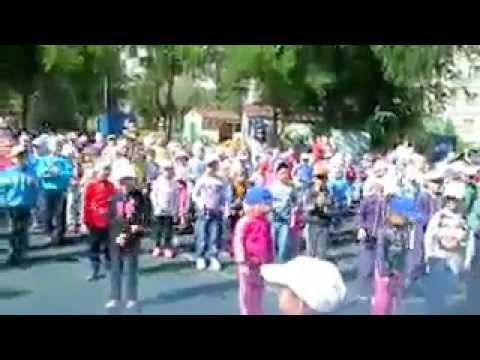 флешмоб, посвящнный Дню рождения Тюменской области в МАДОУ дс 146