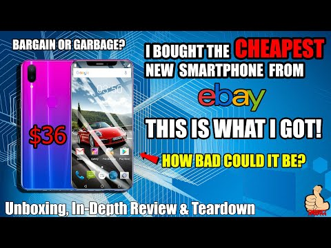 I BOUGHT THE CHEAPEST SMARTPHONE I COULD FIND ON EBAY! THIS IS WHAT $36 GETS YOU!