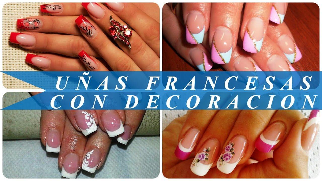 uas francesas con decoracion