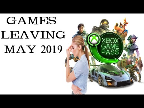 Xbox Game Pass Games Leaving May 2019
