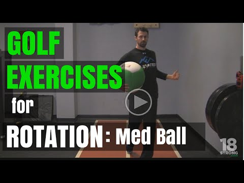Golf Exercises for Rotation