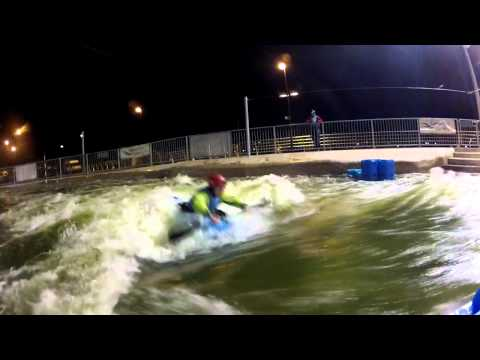 CIWW 10 Cumecs freestyle kayaking, GoPro Hero2
