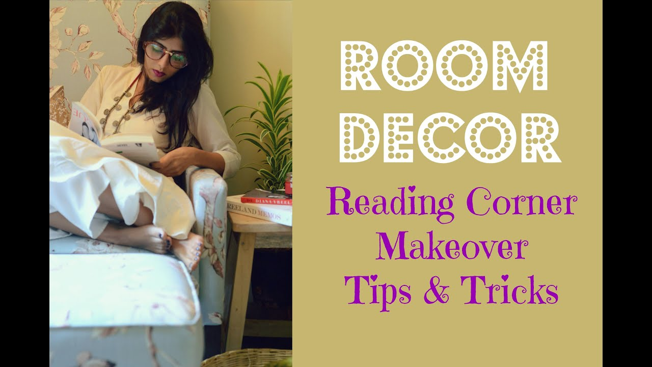 Room Decor India : Reading Corner Makeover With Urban Ladder - YouTube