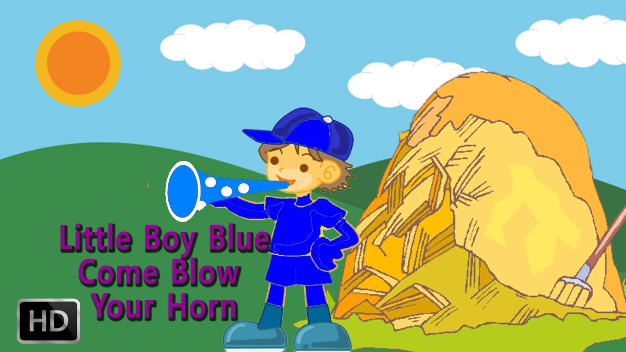 Little Boy Blue Come Your Horn Nursery Rhymes For Children Kids Songs Animated You