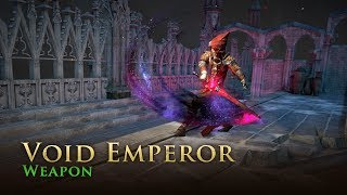 Path of Exile: Void Emperor Weapon Skin