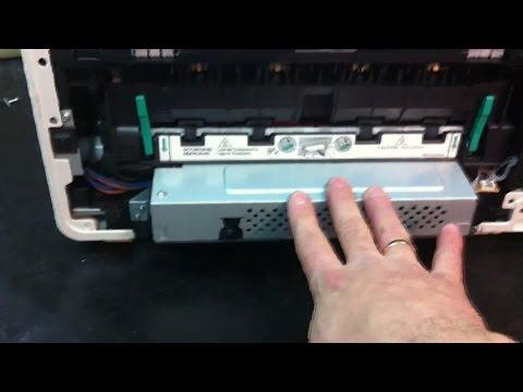 Panasonic KX-MB1500 печь, ремонт