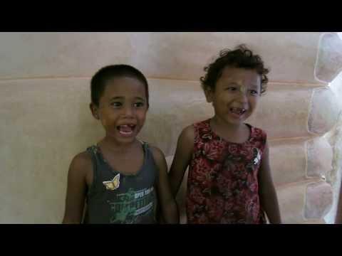 Kids in Bagan, Myanmar