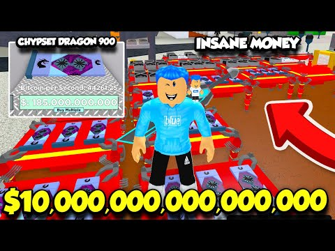 I Became A BITCOIN QUADRILLIONAIRE In Bitcoin Miner WITH THE BEST GRAPHICS CARD!! (Roblox)