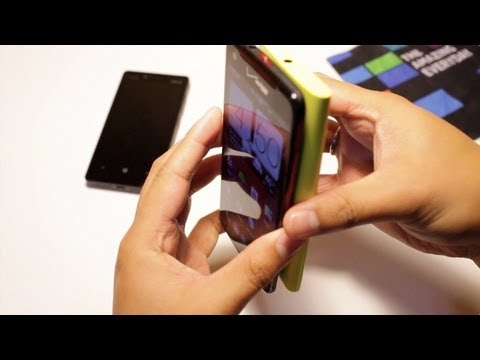 Nokia Lumia 920 Tap to Send Demo, NFC Sharing