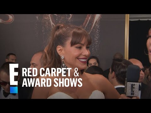 Sofia Vergara Says Hubby Joe Manganiello Is a Nerd  E! Live from the Red Carpet
