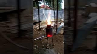 Pemanas alternatif kandang ayam broiler bahan oli bekas utk wilayah sungai penuh kerinci, jambi