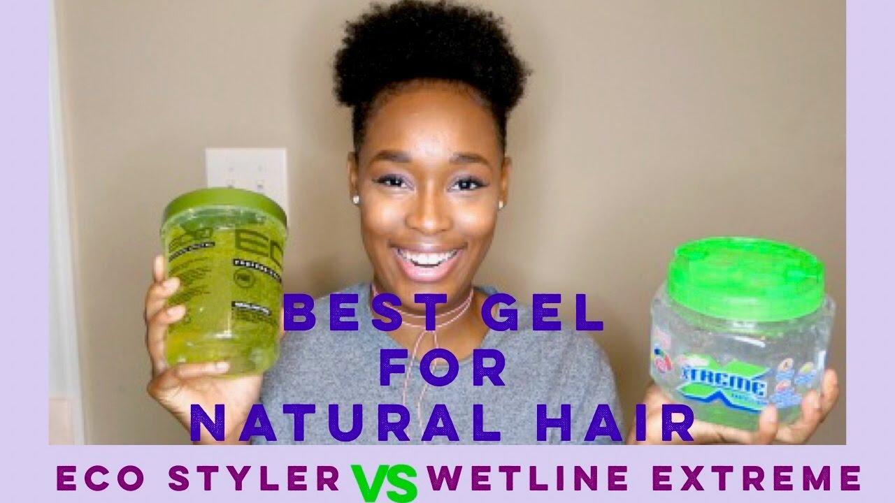 Best Gel For Type 4 Hair Eco Styler Vs Wetline Extreme Gel Youtube