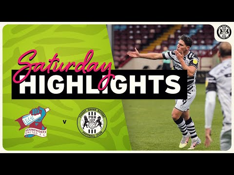 Scunthorpe Forest Green Goals And Highlights