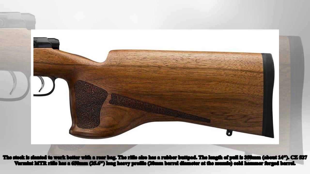 Military New |New CZ 527 Varmint MTR (Match Target Rifle)