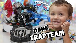 Skylanders Trap Team Dark Edition w/ Custom Portal (Starter Pack Unboxing by Chase)