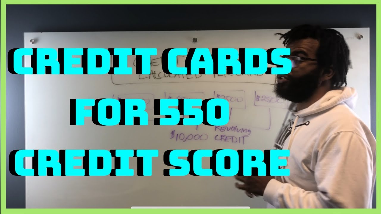 550 Credit Score Credit Card >> Can You Get A Credit Card With A 550 Credit Score Youtube