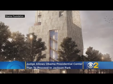 Tone Kapone - The Obama Center is going up are you excited?
