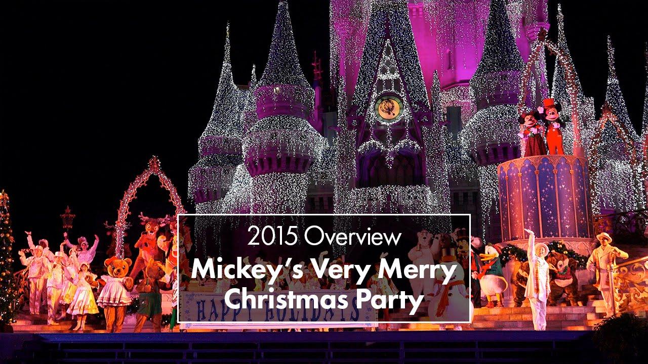 mickeys very merry christmas party 2015 youtube - Disney Christmas Party 2015